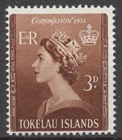 Tokelau 1953 Mi# 4** CORONATION OF QUEEN ELIZABETH II - Tokelau
