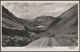 Kirkstone Pass And Brothers Water, Westmorland, C.1950s - Chadwick Studio RP Postcard - Cumberland/ Westmorland
