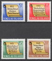 Tokelau 1969 Mi# 9-12** HISTORY OF TOKELAU - Tokelau