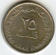 Emirats Arabes Unis United Arab Emirates 25 Fils 1409 - 1989 KM 4 - Emirats Arabes Unis