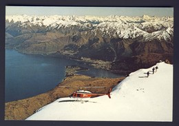 Alpine Helicopters Bell 206B Jetranger Snow Helipad Remarkables Mountains Lake Wakatipu & Queenstown, New Zealand - New Zealand