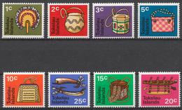 Tokelau 1971 Mi# 18-25** DEFINITIVES, NATIVE HANDICRAFTS - Tokelau