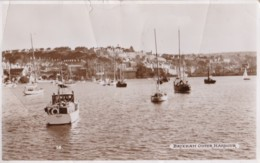 AN65 Brixham, Outer Harbour - RPPC, Torquay Publisher - Other