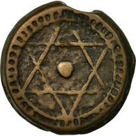Monnaie, Maroc, Sidi Mohammed IV, 4 Falus, 1868, Marrakesh, Marakesh, TB, Cast - Maroc