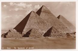 AP20 Cairo, The Pyramids Of Guizeh - RPPC - Pyramids