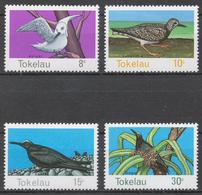 Tokelau 1977 Mi# 30-33** BIRDS - Tokelau