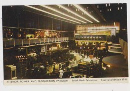 AJ71 Festival Of Britain 1951 - Interior Power And Production Pavilion, South Bank Exhibition - Exhibitions