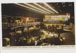 AJ71 Festival Of Britain 1951 - Interior Power And Production Pavilion, South Bank Exhibition - Esposizioni