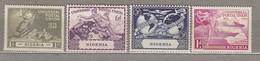 NIGERIA 1949 UPU MH (*) Mi 66-69 SG 64-67 #23182 - Nigeria (...-1960)