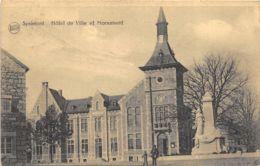 Sprimont - Hôtel De Ville Et Monument - Sprimont