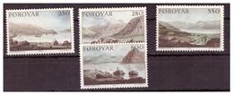 ISOLE FÆR ØER - 1985 - LA SPEDIZIONE STANLEY DEL 1789. DIPINTI DI EDWARD DAYS. SERIE COMPLETA. - MNH** - Isole Faroer