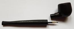 PIPE STYLO - PIPE PEN - IMITATION PIPE - PLASTIQUE - 12 CM - EN L'ETAT - Pipes & Accessoires