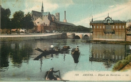 80 AMIENS DEPART DES HORTILLONS LL - Amiens