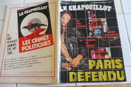 LE CRAPOUILLOT -1971- LE PARIS DEFENDU -LES STRIP TEASEUSES-LA NOUVELLE PROSTITUTION-LES DEMOISELLE AU TELEPHONE.. - Livres, BD, Revues