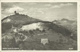 AK Brüx Most Sudeten Schlossberg 1933 #05 - Sudeten