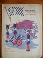 Protège Cahier Zebracier - Buvards, Protège-cahiers Illustrés