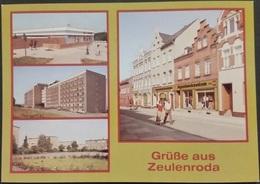 Ak DDR - Zeulenroda - Stadtansichten - Zeulenroda