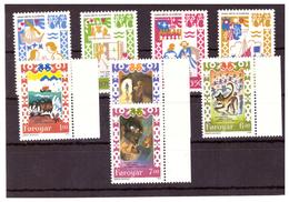 ISOLE FÆR ØER - 1983 E 1994 - ANTICHE BALLATE E  LEGGENDE. DUE SERIE COMPLETE. - MNH** - Isole Faroer
