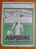 Protège Cahier Aspirine Usines Du Rhone - Blotters