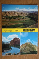 Afganistan. Bamyam Valley  - Old Postcard 1970s - Afghanistan