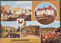 Ak DDR - Ziegenrück - Stadtansichten - Wappen - Ziegenrück