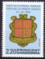 1987 ANDORRA - MINT NH - Unused Stamps