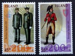 Iceland  2003    Minr.1026-27  MNH (**)  ( Lot F 897) - Nuovi