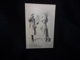 Militaria.Guerre 1914- 1918.Poilu Et Mariane. Société Erckmann - Chatrian , Nancy. Paris .Voir 2 Scans . - Sonstige