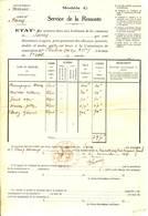 SARRY - SERVICE DE LA REMONTE - Requisition De Chevaux - Guerre 14/18 - Documents Historiques