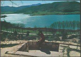 Vista General Del Lago Desde El Mirador, Bañolas, Gerona, C.1960 - Soberanas Tarjeta Postal - Spain