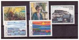 ISOLE FÆR ØER - 1985 E 1987 - DUE  SERIE COMPLETE. - MNH** - Isole Faroer