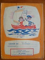 Protège Cahier Livret Caisse D'épargne Offert Par C.E Auchel, Marles, Saint Venant, Norrent Fontes . - Buvards, Protège-cahiers Illustrés