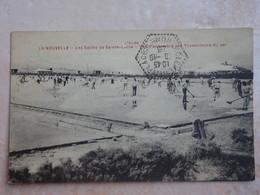 CPA 11 LA NOUVELLE Les Salins De Sainte Lucie Travalleurs Du Sel - Francia