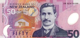 NEW ZEALAND 50 DOLLARS ND 1999 AU P-188a (free Shipping Via Registered Air Mail) - Nieuw-Zeeland