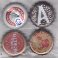 Tappo A Corona - Birra Moretti, Birra Antoniana,Birra Peroni - Beer