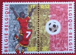 WK Voetbal Fussball Soccer Football OBC N° 2892-2893 (Mi 2943-2944) 2000 POSTFRIS MNH ** BELGIE BELGIEN / BELGIUM - Ungebraucht