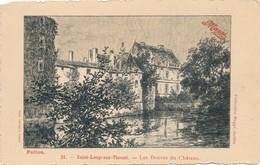CPA - France - (79) Deux-Sèvres - St-Loup-sur-Thouet - Les Douves Du Château - Saint Loup Lamaire