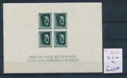 D.-Reich  Block  6   (ze9836  ) Siehe Scan - Deutschland
