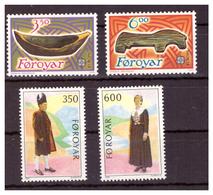 ISOLE FÆR ØER - 1989 - DUE  SERIE COMPLETE. - MNH** - Isole Faroer