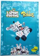 NOTICE DE MONTAGE THE LAPINS CRETINS RABBIDS 5260 5261 - Planos