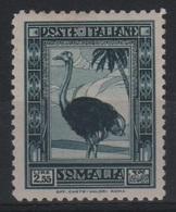 1932 Somalia Pittorica 2,55 L. MLH Firmato Biondi - Somalia