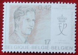 Het Prins Filipfonds OBC N° 2906 (Mi 2957) 2000 POSTFRIS MNH ** BELGIE BELGIEN / BELGIUM - Ungebraucht