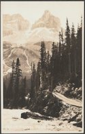 Cathedral Peak And Yoho Road, British Columbia, C.1920s - Byron Harmon RPPC - Other