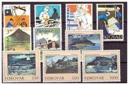 ISOLE FÆR ØER - 1990 - TRE  SERIE COMPLETE. - MNH** - Isole Faroer