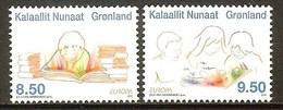 GROENLAND N°533/534** (europa 2010) - COTE 7.50 € - 2010