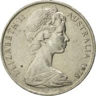 Monnaie, Australie, Elizabeth II, 10 Cents, 1978, Melbourne, TB+, Copper-nickel - 1855-1910 Monnaie De Commerce