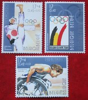 Olympic Games Sport  OBC N° 2908-2910 (Mi 2959-2961) 2000 POSTFRIS MNH ** BELGIE BELGIEN / BELGIUM - Ungebraucht