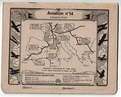 Cahier D'écolier Ancien 1934 - Aviation N° 14 - L'Aviation Civile - 3 Scans - Buvards, Protège-cahiers Illustrés