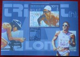 Olympic Games Sport  OBC N° 2911 Blok 86 (Mi 2962 Bl 77) 2000 POSTFRIS MNH ** BELGIE BELGIEN / BELGIUM - Ungebraucht
