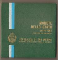 San Marino - Emissione 1982 Fds - Serie Per Numismatici In Cofanetto - San Marino